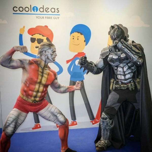 Comic Con Africa - Colossus vs Batman