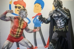 Comic Con Africa - Colossus vs Batman