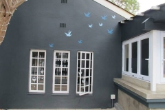 Stencilled Birds - Piza e Vino