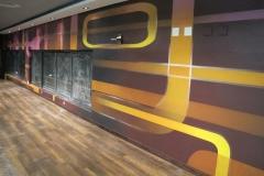 Tenpin Bowling Mural