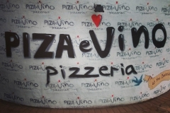 Graffiti Mural - Piza e Vino