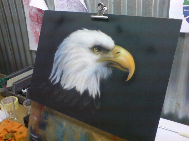 Airbrush Student Work