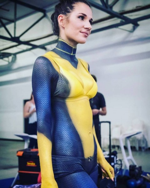Comic Con Africa - Shadowcat Body Paint