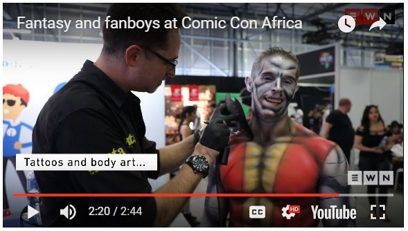 Airvolution Comic Con Africa