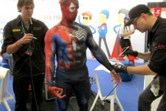 Comic Con Africa - Spiderman / Venom Body Paint