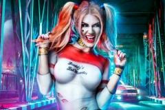 Harley Quinn Body Paint