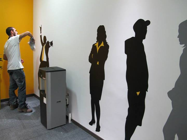 Graffiti Sillhouettes