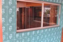 Stencilled Mural - Tings n Times