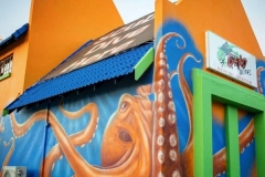 Geko Divers Kraken Mural