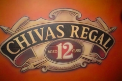 Airbrushed Mural - Chivas Regal