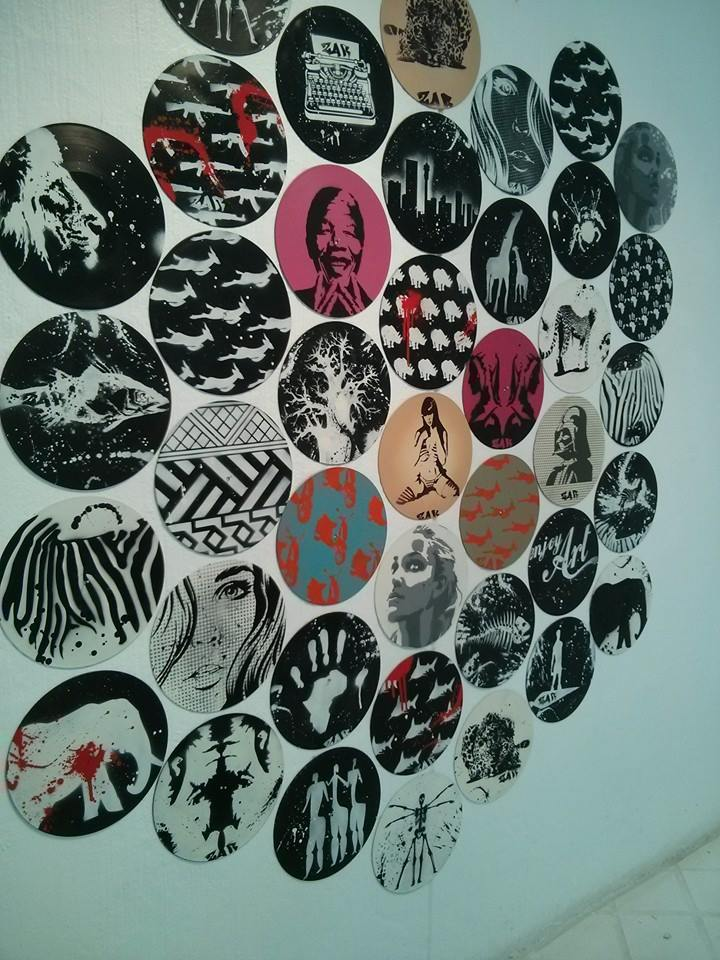 Urban Art, Graffiti Vinyl Installation