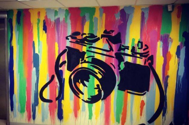 Vega graffiti wall
